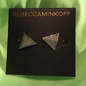 Rebecca Minkoff  silver earrings